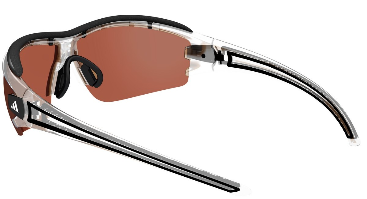 adidas Performance Adidas Performance Sonnenbrille »Evil Eye Halfrim Pro XS A180«, grau, 6069 - grau/braun