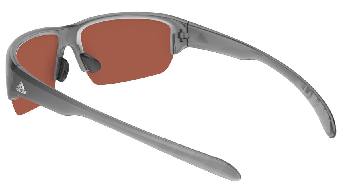 adidas Performance Adidas Performance Sonnenbrille »Kumacross Halfrim A421«, grau, 6063 - grau/schwarz